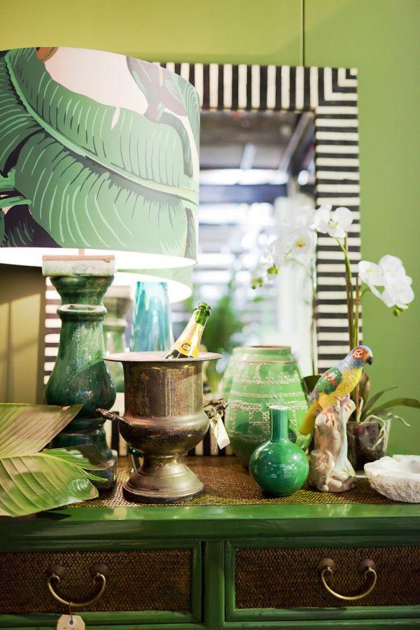 NoiThatNghiDuong-Xanh Mat Nhiet Doi-green-mirror-decor-design