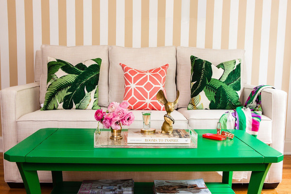 NoiThatNghiDuong-Xanh Mat Nhiet Doi-green-table-cream-decor